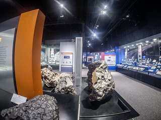 Meteor Exhibit at Natural History Museum
