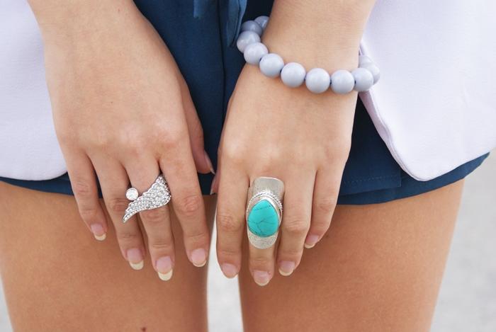 pierścionek z piórem