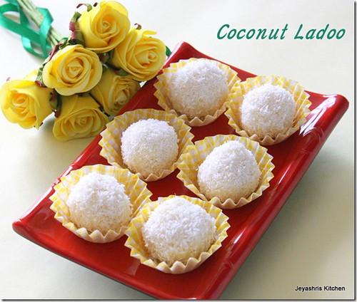 Coconut- ladoo
