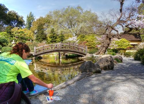 california japanesegarden saratoga sakura hdr hakonegardens photomatix 1xp nex6 selp1650
