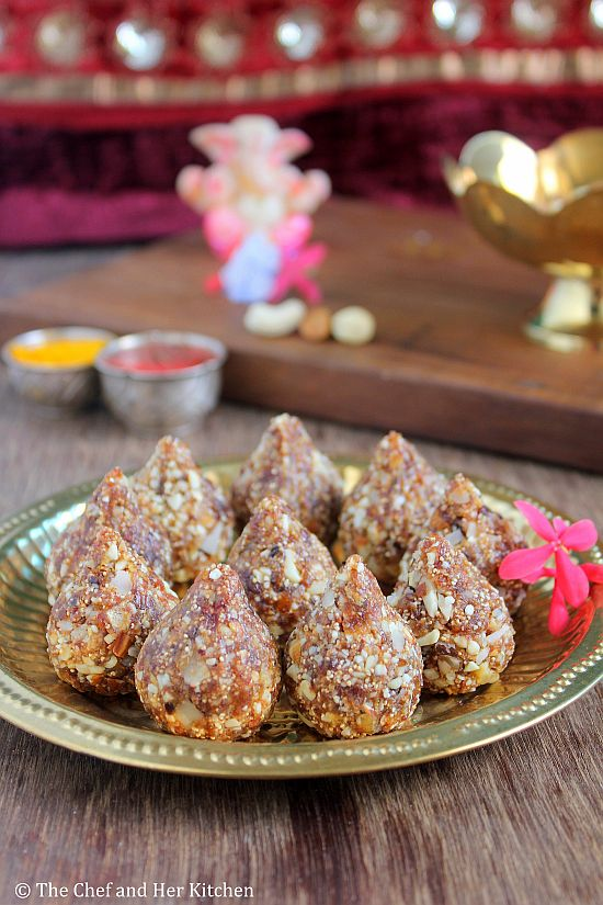 mixed dry fruit modak