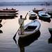 Boatman - Varanasi, India by Maciej Dakowicz
