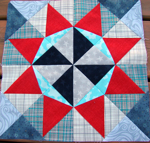 Lucky Stars July block