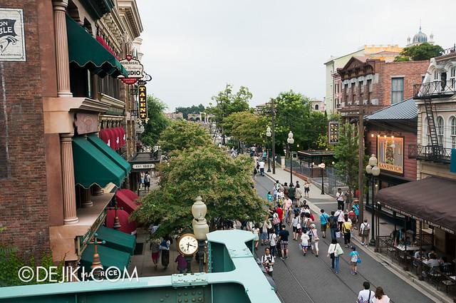 American Waterfront - Disneysea Electric Railway - Broadway View