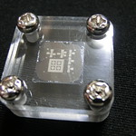 Acrylic chip case