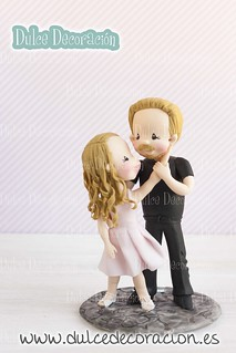 novios personalizados dirty dancing
