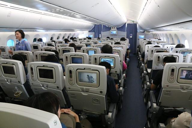 ANA 787 艙內配置