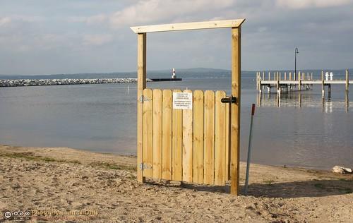 lighthouse beach marina pier gate outdoor michigan september pierhead petoskey littletraversebay 2013 juannonly