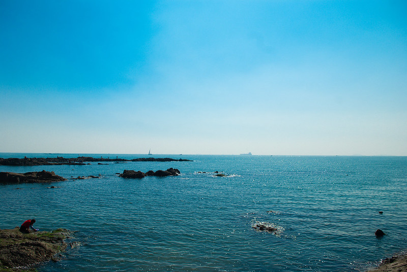 青岛未知名海滩