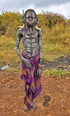 Mursi Boy, Ethiopia