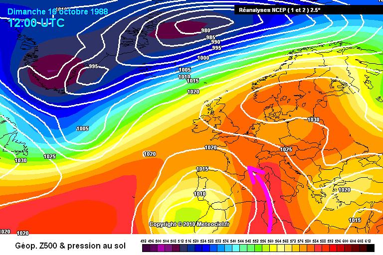 carte de situation du record mensuel absolu de chaleur à Ajaccio le 15 octobre 1988 météopassion