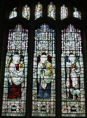 Saints (Female) in Stained Glass