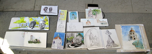 41st Worldwide Sketchcrawl in Los Angeles