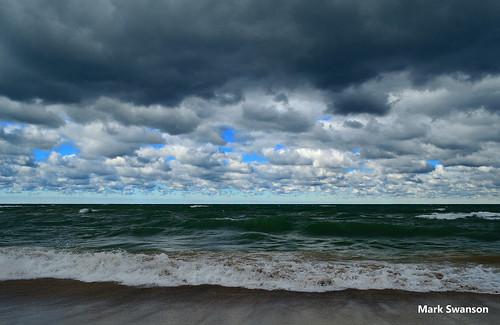 travel sunset sky lake seascape color fall beach nature clouds landscape sand nikon exposure waves michigan dunes lakemichigan greatlakes lakeshore polarizer circular d5100