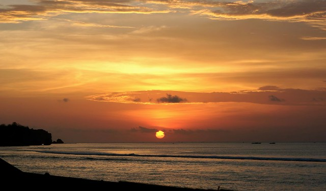 Et le soleil se couche encore une fois...