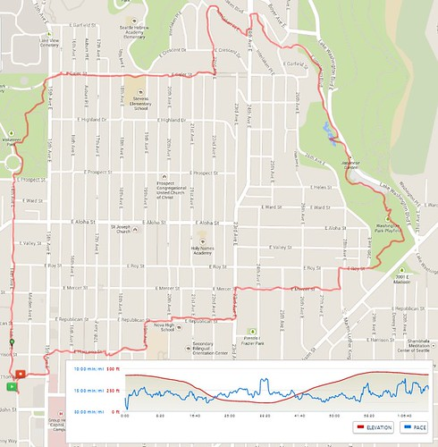 Today's awesome walk, 4 miles in 1:12 by christopher575