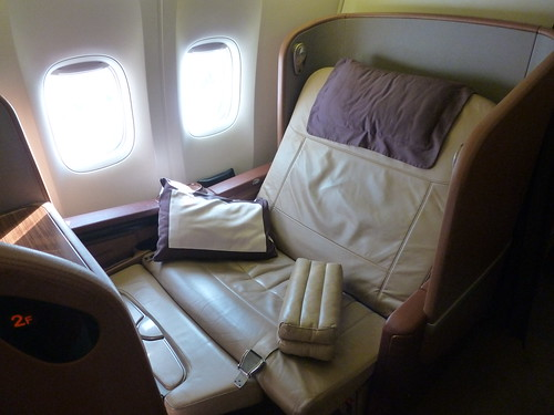 Singapore Airlines Boeing 777-300ER First Class Seat