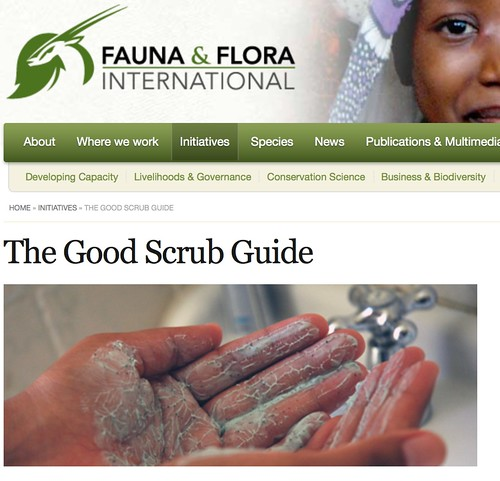 The Good Scrub Guide | Fauna & Flora International