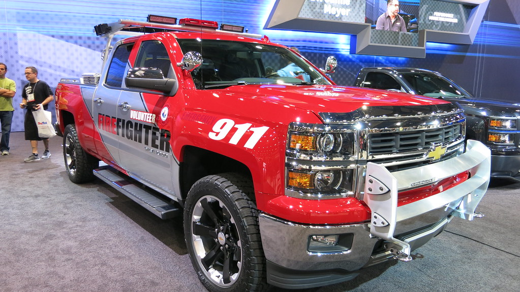 SEMA Show 2013 Day 1 Chevrolet Firefighter Concept Truck