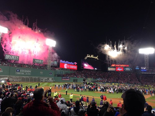 World Series in Boston 2013