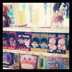♥ le rayon préféré de néné a toy's ♥ #kiki #monchhichi #noel #ourlittlefamily #france
