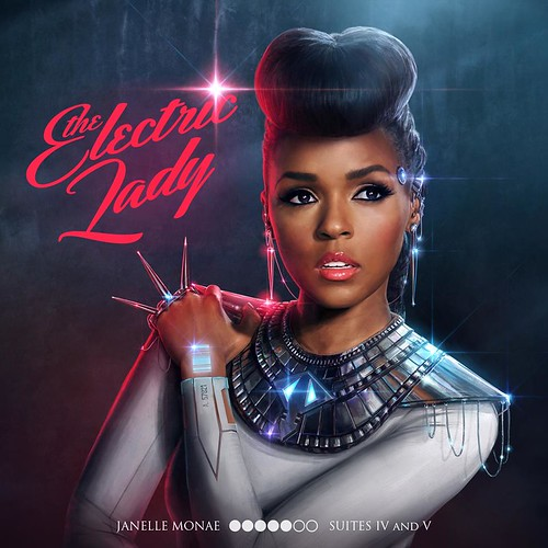 The cover of Janelle Monae's album Electric Lady