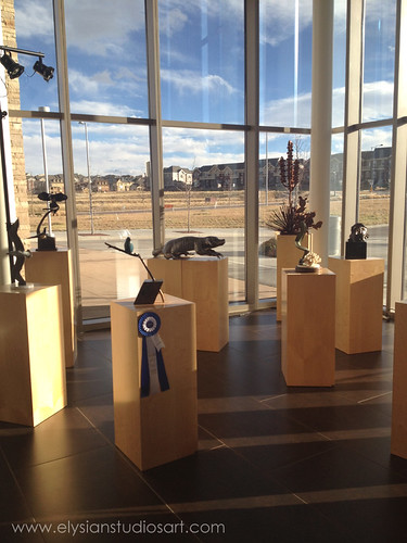 Art included in 201312th Annual Lone Tree Art Exhibition-sculptures