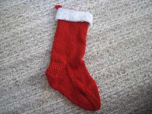 Veronica's stocking
