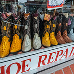 Wed, 2013-05-29 10:51 - Colorful shoe repair display