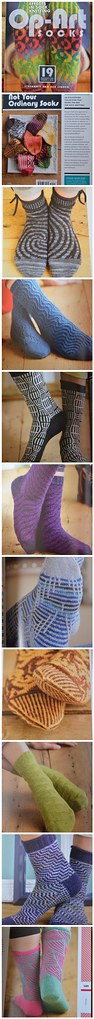 KS: Op-Art Socks