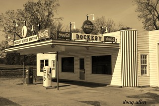 Old Dockery service station