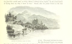 "British Library digitised image from page 387 of ""Switzerland: its scenery and people. Pictorially represented by ... Swiss and German artists. With historical and descriptive text, based on the German of Dr Gsell-Fels [Translated and adapted by G. C. Chi"