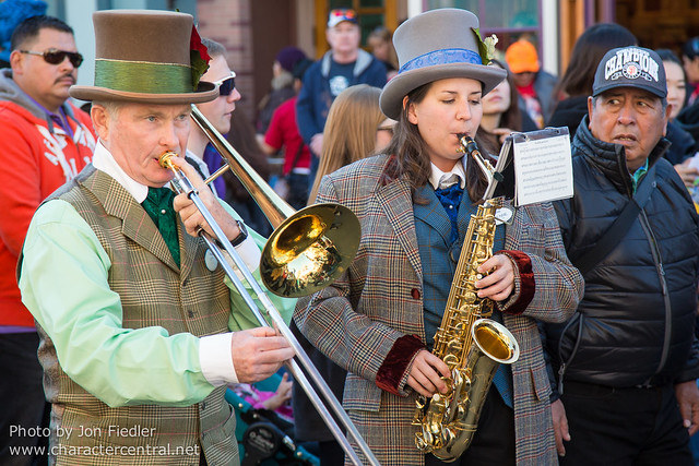 Disneyland Dec 2012 - Dickens Yuletide Band