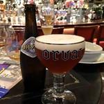 ベルギービール大好き!!オルヴァルOrval @デリリウムカフェレゼルブ