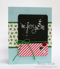 Chalkboard Joy Card