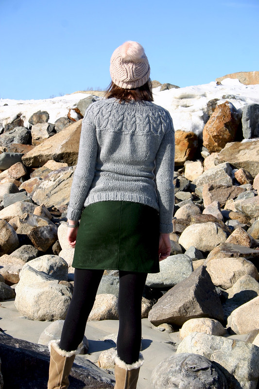 owl sweater moss skirt4