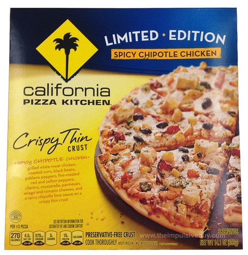 California Pizza Kitchen White Pizza Nutrition Facts