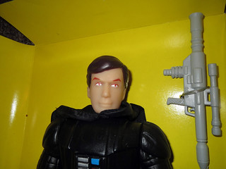 Darth Vader knockoff Star Wars doll figure no helmet David Prowse maybe 2