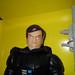 Darth Vader knockoff Star Wars doll figure no helmet David Prowse maybe 2