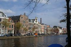 Oude Vest gracht Leiden