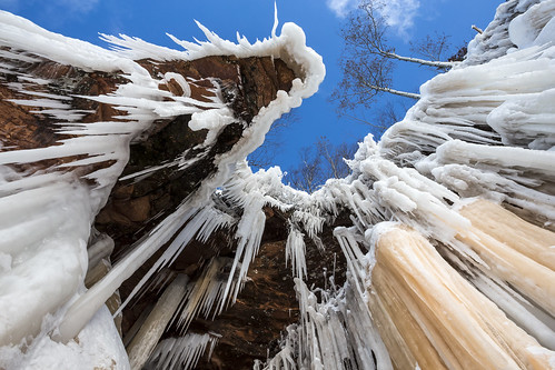 Ice Caves, Apostle Islands National Lakeshore por deliriousmn