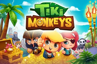Tiki Monkeys, the arcade game