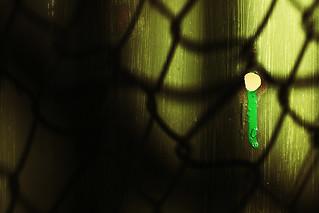 Green drip.