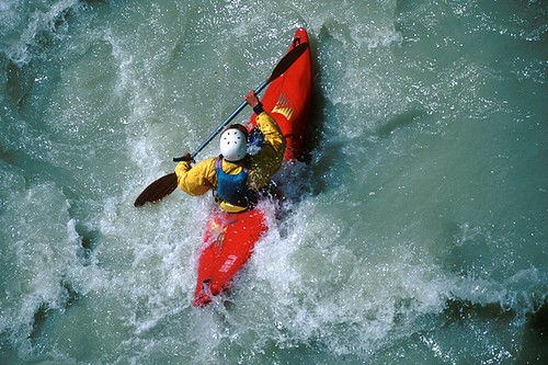 Whitewater Kayaking; Outdoor Recreation in British Columbia, Canada