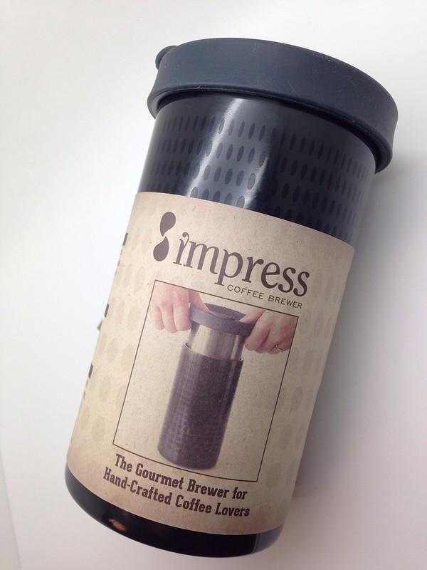 Impress Coffee Brewer 濾壓式咖啡隨行杯 @ 【Uncle Coffee】咖啡大叔 :: 痞客邦