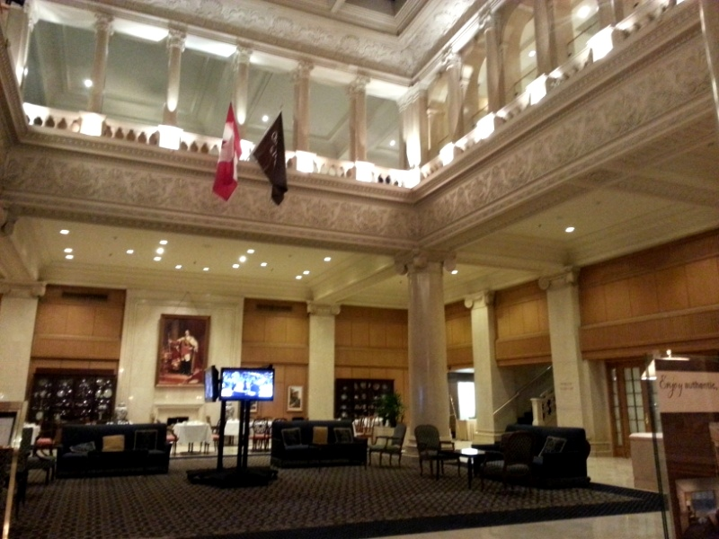 King Edward lobby Toronto
