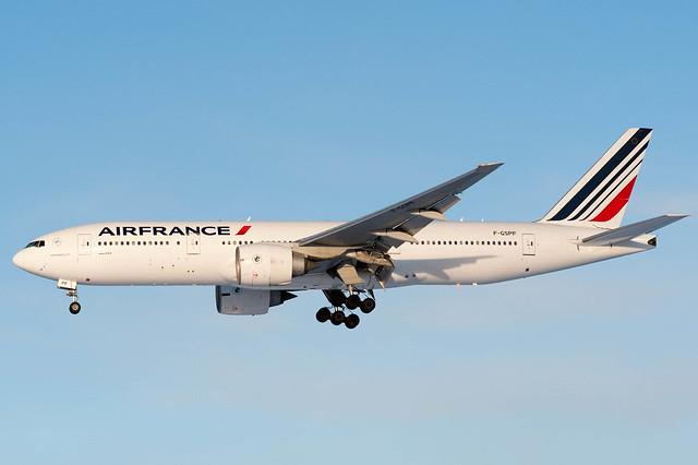 Air France Boeing 777-200ER F-GSPF