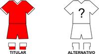 Uniforme Selección Paraguaríense de Fútbol