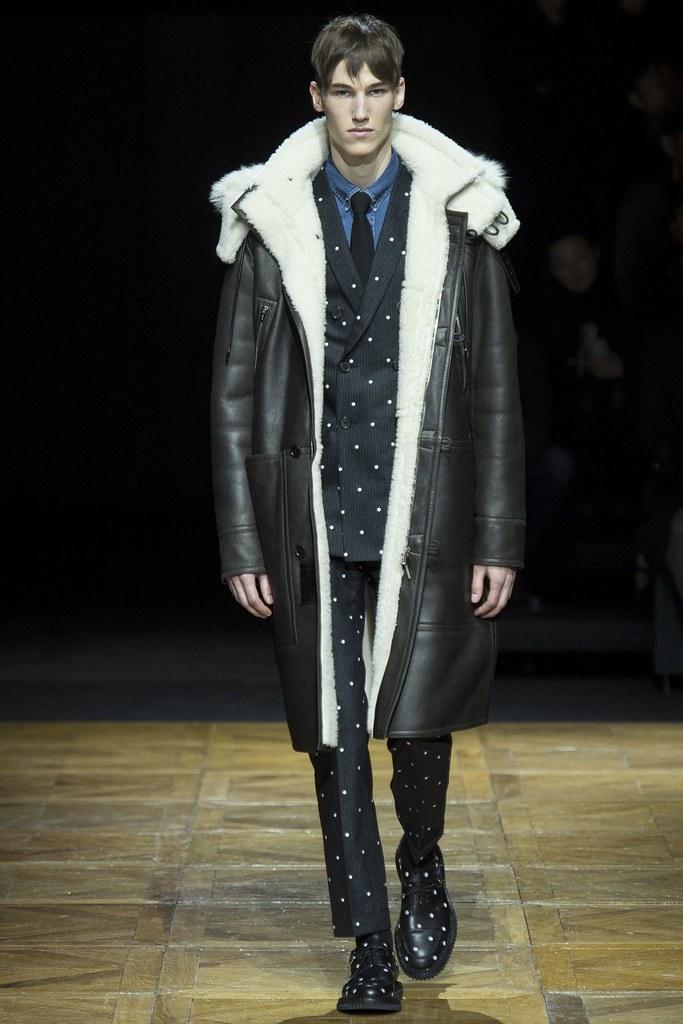 FW14 Paris Dior Homme018_Kristoffer Hasslevall(VOGUE)