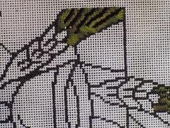 mosaic(0.0), art(1.0), pattern(1.0), textile(1.0), needlework(1.0), embroidery(1.0), design(1.0),